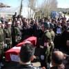 Vefat Eden Kore Gazisi, Askeri Törenle Uğurlandı