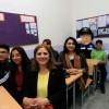 Amasya'da Polis Eşleri Okul Boyattı