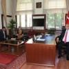 Azerbaycan Kadın Gazeteciler Birliği Başkanından Vali Çomaktekin'e Ziyaret
