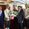 Ahilik Haftası'nda Ahilerden Başkan Özdemir'e Ziyaret