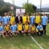 Amasya'da polislerle gazeteciler futbol maçı yaptı