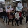 """Gümüşhacıköy'de """"Sağlıklı Yaşam"""" yürüyüşü"""