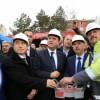 Gümüşhacıköy'de Yeni Hükümet Konağının Temeli Atıldı
