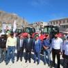 Başkan Özdemir Traktör Dağıtım Törenine Katıldı