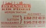 İstanbul Kır Pidesi ve Mersin Tantuni
